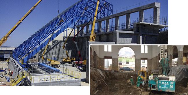 construcción obras especiales